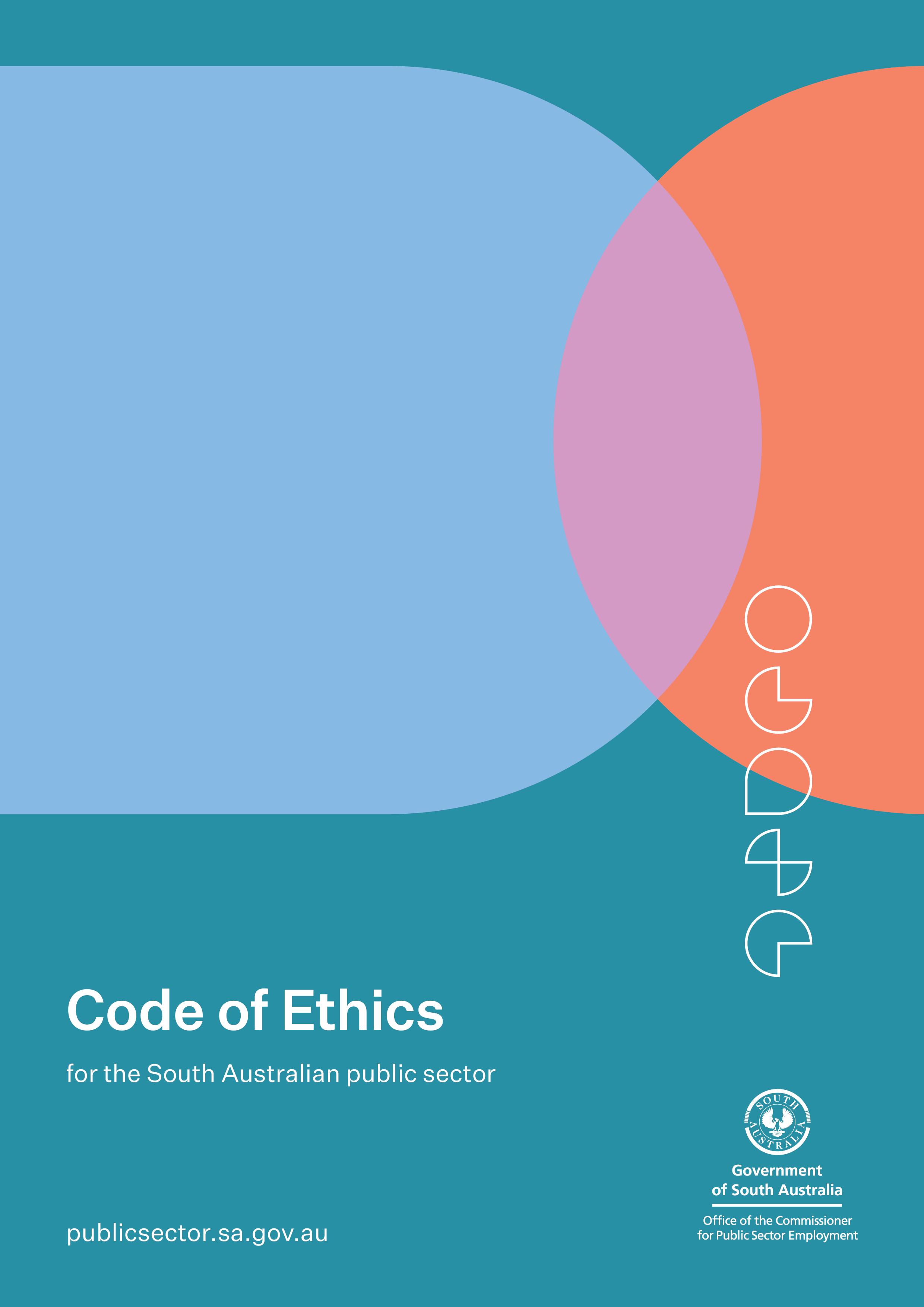 SA Public Sector Code of Ethics