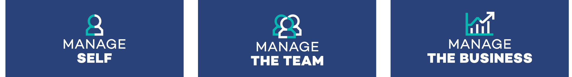 Manage Self, the team and business