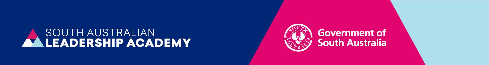 SA Leadership Academy Logo and Government of SA logo